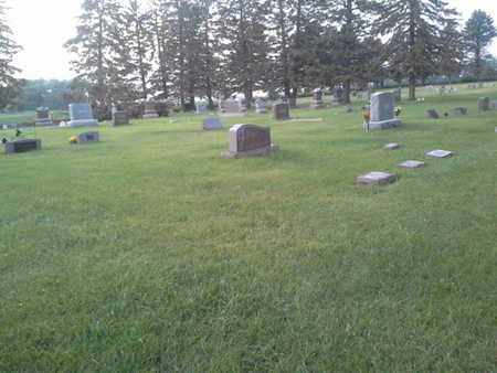 ****SOUTH SECTION, VIEW OF - Hamlin County, South Dakota | VIEW OF ****SOUTH SECTION - South Dakota Gravestone Photos