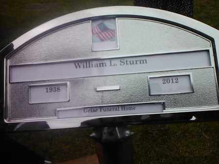 STURM, WILLIAM L - Hamlin County, South Dakota   WILLIAM L STURM - South Dakota Gravestone Photos