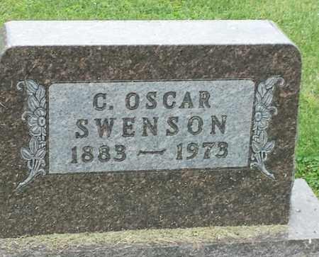 SWENSON, C OSCAR - Hamlin County, South Dakota | C OSCAR SWENSON - South Dakota Gravestone Photos