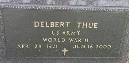 "THUE, DELBERT ""MILITARY"" - Hamlin County, South Dakota | DELBERT ""MILITARY"" THUE - South Dakota Gravestone Photos"