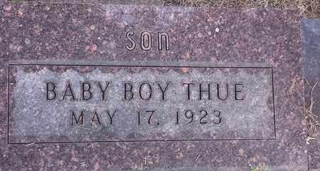 THUE, INFANT - Hamlin County, South Dakota | INFANT THUE - South Dakota Gravestone Photos
