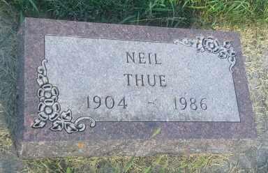 THUE, NEIL - Hamlin County, South Dakota | NEIL THUE - South Dakota Gravestone Photos