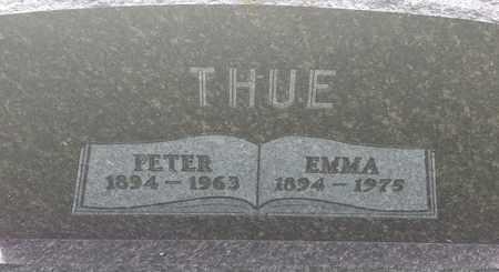 THUE, PETER - Hamlin County, South Dakota | PETER THUE - South Dakota Gravestone Photos