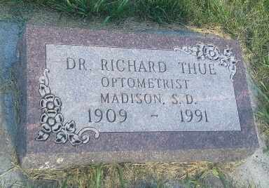 THUE, RICARRD DR - Hamlin County, South Dakota | RICARRD DR THUE - South Dakota Gravestone Photos