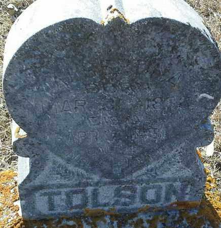 TOLSON, ALBERT - Hamlin County, South Dakota | ALBERT TOLSON - South Dakota Gravestone Photos