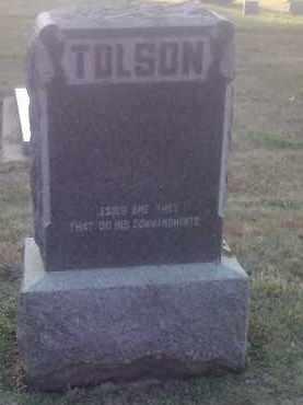 TOLSON, FAMILY STONE - Hamlin County, South Dakota | FAMILY STONE TOLSON - South Dakota Gravestone Photos