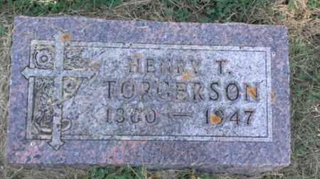 TORGERSON, HENRY T - Hamlin County, South Dakota | HENRY T TORGERSON - South Dakota Gravestone Photos