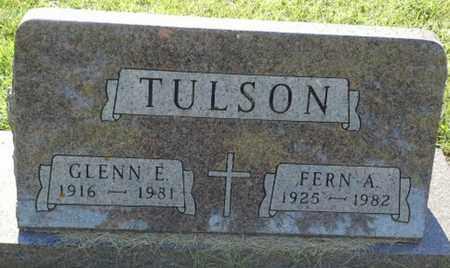 TULSON, FERN A - Hamlin County, South Dakota | FERN A TULSON - South Dakota Gravestone Photos