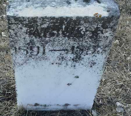 UNKNOWN, RAGNILD - Hamlin County, South Dakota | RAGNILD UNKNOWN - South Dakota Gravestone Photos