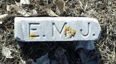 JOHNSON, E.M. - Hamlin County, South Dakota | E.M. JOHNSON - South Dakota Gravestone Photos