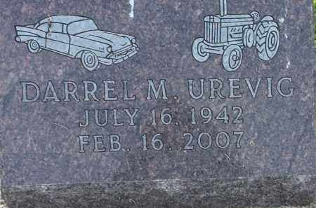 UREVIG, DARREL M - Hamlin County, South Dakota | DARREL M UREVIG - South Dakota Gravestone Photos