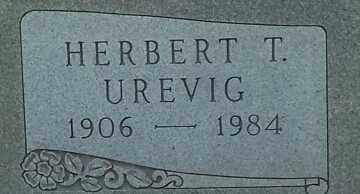 UREVIG, HUBERT T - Hamlin County, South Dakota | HUBERT T UREVIG - South Dakota Gravestone Photos