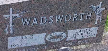 MURPHY WADSWORTH, JANET - Hamlin County, South Dakota   JANET MURPHY WADSWORTH - South Dakota Gravestone Photos