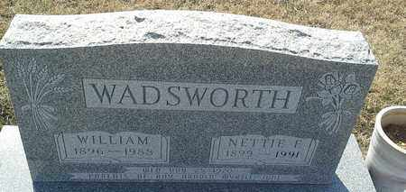 WADSWORTH, NETTIE E - Hamlin County, South Dakota | NETTIE E WADSWORTH - South Dakota Gravestone Photos