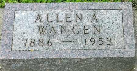 WAGEN, ALLEN A - Hamlin County, South Dakota | ALLEN A WAGEN - South Dakota Gravestone Photos