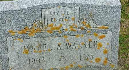 WALKER, MABEL A - Hamlin County, South Dakota | MABEL A WALKER - South Dakota Gravestone Photos