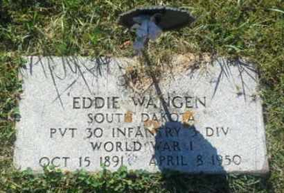 "WANGEN, EDDIE ""MILITARY"" - Hamlin County, South Dakota 