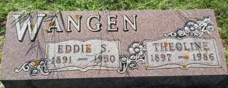 WANGEN, THEOLINE - Hamlin County, South Dakota | THEOLINE WANGEN - South Dakota Gravestone Photos