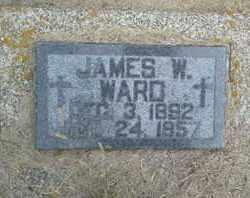 WARD, JAMES W - Hamlin County, South Dakota | JAMES W WARD - South Dakota Gravestone Photos