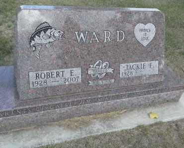 WARD, JACKIE F - Hamlin County, South Dakota | JACKIE F WARD - South Dakota Gravestone Photos
