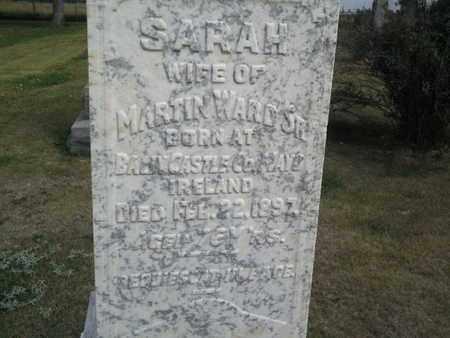 WARD, SARAH - Hamlin County, South Dakota | SARAH WARD - South Dakota Gravestone Photos