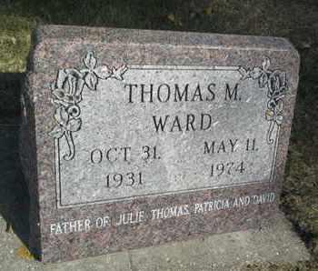 WARD, THOMAS M - Hamlin County, South Dakota | THOMAS M WARD - South Dakota Gravestone Photos