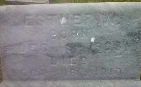 WAYRYNEN, ESTHER W - Hamlin County, South Dakota | ESTHER W WAYRYNEN - South Dakota Gravestone Photos