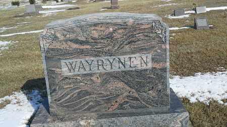 WAYRYNEN, FAMILY STONE - Hamlin County, South Dakota | FAMILY STONE WAYRYNEN - South Dakota Gravestone Photos