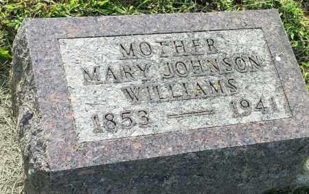 JOHNSON WILLIAMS, MARY - Hamlin County, South Dakota   MARY JOHNSON WILLIAMS - South Dakota Gravestone Photos