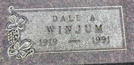 WINJUM, DALE A - Hamlin County, South Dakota | DALE A WINJUM - South Dakota Gravestone Photos
