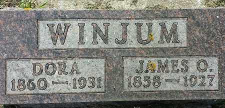 WINJUM, JAMES O - Hamlin County, South Dakota | JAMES O WINJUM - South Dakota Gravestone Photos