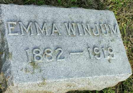 WINJUM, EMMA - Hamlin County, South Dakota | EMMA WINJUM - South Dakota Gravestone Photos