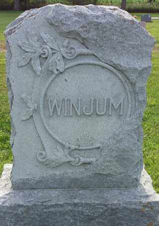 WINJUM, FAMILY STONE - Hamlin County, South Dakota | FAMILY STONE WINJUM - South Dakota Gravestone Photos