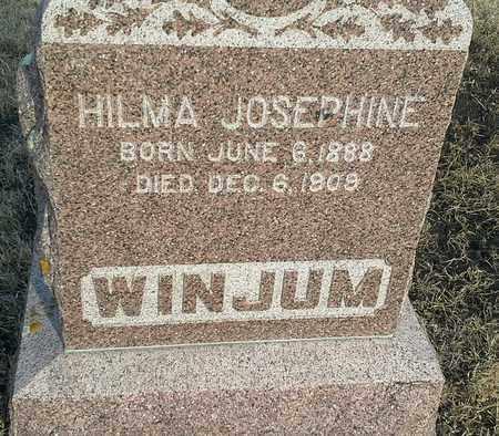 WINJUM, HIMA JOSPHINE - Hamlin County, South Dakota | HIMA JOSPHINE WINJUM - South Dakota Gravestone Photos