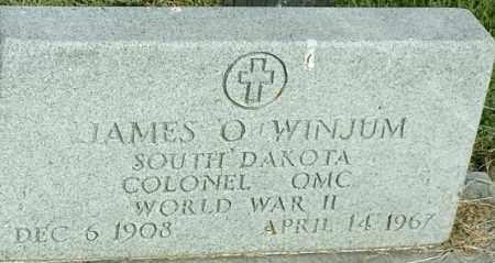 "WINJUM, JAMES O ""MILITARY"" - Hamlin County, South Dakota | JAMES O ""MILITARY"" WINJUM - South Dakota Gravestone Photos"