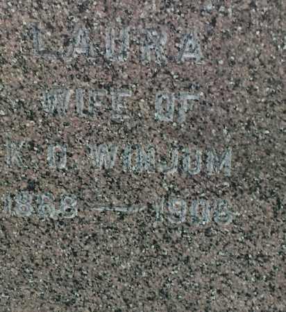 WINJUM, LAURA - Hamlin County, South Dakota | LAURA WINJUM - South Dakota Gravestone Photos