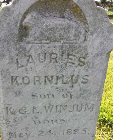 WINJUM, LAURIES - Hamlin County, South Dakota | LAURIES WINJUM - South Dakota Gravestone Photos