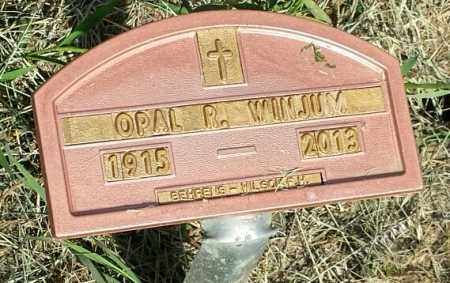 WINJUM, OPAL R - Hamlin County, South Dakota | OPAL R WINJUM - South Dakota Gravestone Photos