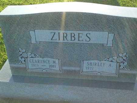 ZIRBES, SHIRLEY A - Hamlin County, South Dakota | SHIRLEY A ZIRBES - South Dakota Gravestone Photos