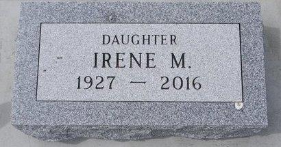 ZIRBES, IRENE M. - Hamlin County, South Dakota | IRENE M. ZIRBES - South Dakota Gravestone Photos