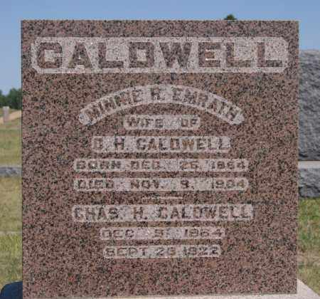 EMRATH CALDWELL, MINNIE R - Hanson County, South Dakota | MINNIE R EMRATH CALDWELL - South Dakota Gravestone Photos