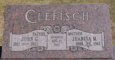 CLEFISCH, JOHN G - Hanson County, South Dakota | JOHN G CLEFISCH - South Dakota Gravestone Photos