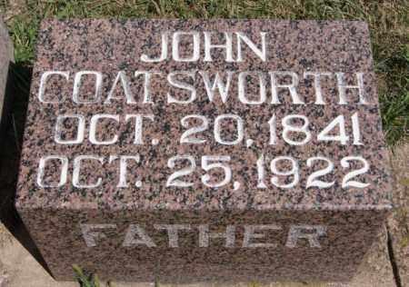 COATSWORTH, JOHN - Hanson County, South Dakota | JOHN COATSWORTH - South Dakota Gravestone Photos