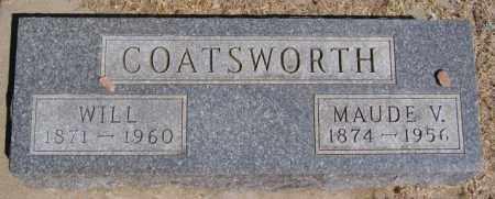 COATSWORTH, MAUDE V - Hanson County, South Dakota | MAUDE V COATSWORTH - South Dakota Gravestone Photos