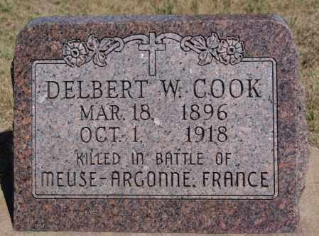 COOK, DELBERT W - Hanson County, South Dakota | DELBERT W COOK - South Dakota Gravestone Photos