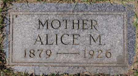 DESMOND, ALICE M - Hanson County, South Dakota | ALICE M DESMOND - South Dakota Gravestone Photos