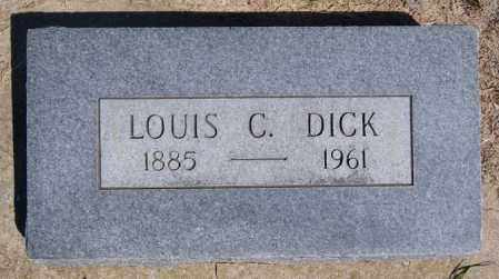 DICK, LOUIS C - Hanson County, South Dakota | LOUIS C DICK - South Dakota Gravestone Photos