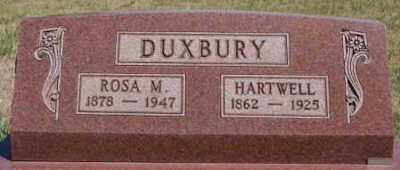 DUXBURY, HARTWELL - Hanson County, South Dakota | HARTWELL DUXBURY - South Dakota Gravestone Photos