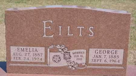 EILTS, GEORGE - Hanson County, South Dakota | GEORGE EILTS - South Dakota Gravestone Photos