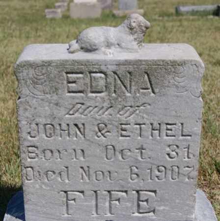 FIFE, EDNA - Hanson County, South Dakota | EDNA FIFE - South Dakota Gravestone Photos